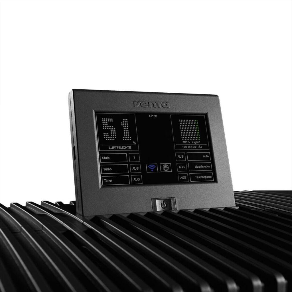 Фото Очиститель-увлажнитель воздуха Venta LPH60 WiFi черный № 4