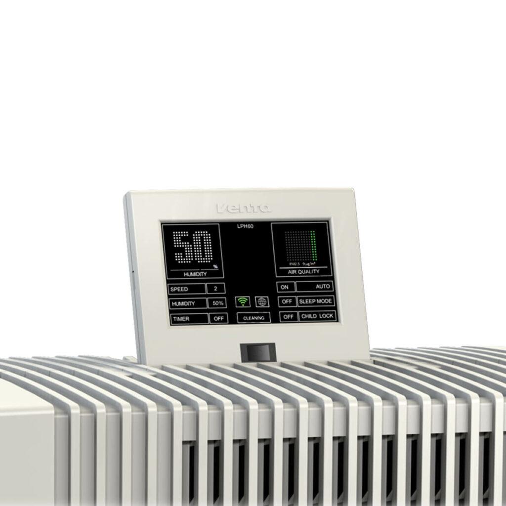 Фото Очиститель-увлажнитель воздуха Venta LPH60 WiFi белый № 6