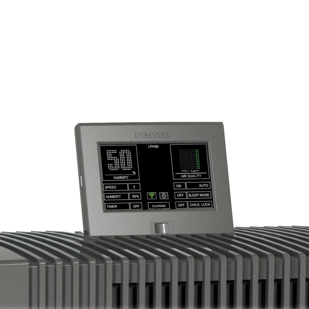 Фото Очиститель-увлажнитель воздуха Venta LPH60 WiFi черный № 6